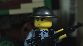 Lego Chinese Soldier