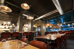 _DSC2157 (fdpdesign) Tags: pizzamaria pizzeria genova viacecchi foce italia italy design nikon d800 d200 furniture shopdesign industrial lampade arredo arredamento legno ferro abete tavoli sedie locali