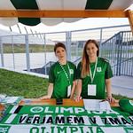 Hostese NK Olimpija Ljubljana na tekmi 1. krog nove sezone: Olimpija - Celje. www.agencija22.si www.nkolimpija.si