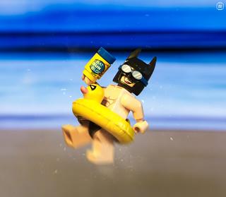 Batman Beach Time