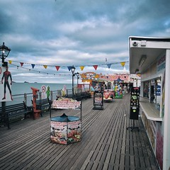 Games (ancientlives) Tags: paignton pier funfair games devon torbay englishriviera england uk europe travel southwest sea coast walking coastalpath beach amusements fair clouds weather august summer 2017 thursday