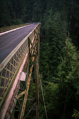 Bridge (Jeff Slinker) Tags: washington state mount rainier national park mountrainiernationalpark mountrainier morning dawn sunrise usa bridge