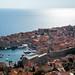 Cidade croata na costa do Mar Adriático
