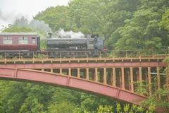 Severn Valley railway (chrischampion2) Tags: arley severnvalleyrailway severnvalley victoriabridge johnfowler bridge railway steam steamtrain train carriages railwaybridge