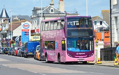 15586 404DCD (PD3.) Tags: 15586 404dcd 404 dcd scania enviro 400 stagecoach cancer research worthing west sussex england uk bus buses psv pcv preserved vintage seafront heene road service july 2017