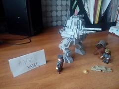 "Lego W. I. P ""Schwer Gepanzerter Tank überbrücken"" or SchGep Tankübe (A.V.V.) Tags: lego ww1 avv wip"