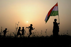 70 Years of Independence - Extend Social Protection (pallab seth) Tags: जयहिंद india nation tricolour nationalflag bengal independenceday 2017 girl boy celebration indian happy child children kid kids india70