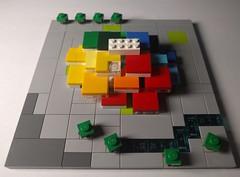 Microscale LEGO House