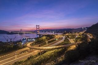 青馬大橋,Tsing Ma Bridge,HongKong