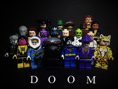 The Legion (LordAllo) Tags: lego dc justice league alex ross legion doom toyman riddler scarecrow clayface giganta metallo poison ivy parasite gorilla grodd lex luthor brainiac doctor sivana solomon grundy sinestro captain cold black manta bizarro joker cheetah