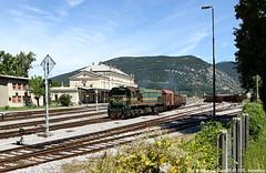 664-111 / 27.07.17 (Schumny) Tags: 664 111 664111 sz slowenien nova gorica görtz gorizia bahn eisenbahn diesel diesellok lok lokomotive bahnhof güter güterzug berge alpen