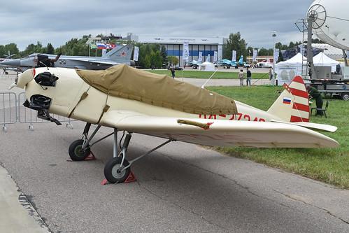 Yakolev UT-2 'RA-2724G'