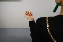 Dasha... (f_lynx) Tags: sonya7 sonyfe282 color flynx hand nails chain gold black shadows street earring ear girl fun 2x3 moscow russia white gray mamm mdf мдф museum museumexhibition photography photo back dasha dashaantonova dashasizova