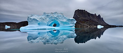 Eye of the Arctic (orvaratli) Tags: greenland arctic arcticphoto iceberg scoresbysund east water ocean fjord island expedition phototour fall ice glacier