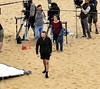 Filming 'Juliet, Naked' (philbarnes4) Tags: julietnaked vikingbay broadstairs thanet kent england film filming location scene shot shoot camera microphone actors nikon nikond5500 dslr rosebyrne chrisodowd sand beach filmcrew director movie soundman lillybrazier ethanhawks arguement disagreement
