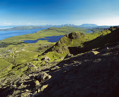 From Storr (Benjamin Driver) Tags: velvia expired 120 medium format mediumformat slide slidefilm film 6x7 67 pentax pentax6x7 pentax67 e6 selfdeveloped developed scotland skye isleofskye storr oldmanofstorr old man of blue green landscape landscapes highlands clear sky rocks light lee filter 45mm hill vast wide summer 2017