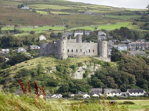 Harlech Castle and Royal St David's course