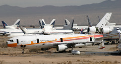 DC-10 | N154SY | VCV | 20040216 (Wally.H) Tags: mcdonnell douglas dc10 n154sy suncountryairlines vcv kvcv victorville airport