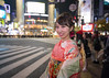 Young woman in Furisode kimono standing in Shibuya crossing at night (Apricot Cafe) Tags: img5346 2024years 20s asia asianethnicity asianandindianethnicities canonef1635mmf28liiusm healthylifestyle japan japaneseethnicity japaneseculture kimono shibuya tokyo tokyojapan beautifulwoman beauty candid carefree celebration ceremony charming cheerful colorimage culture day enjoy enjoyment fashion furisode hairaccessory happiness horizontal lifestyles lightingequipment longhair lookingatcamera night obi oneperson onlyjapanese outdoor outdoors peaceful people photography portrait realpeople seijinnohi seijinshiki shibuyacrossing smiling standing sustainablelifestyle traditionalclothing waistup woman youngadult