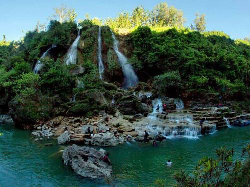 Air Terjun Sri Gethuk Wisata Alam Di Gunung Kidul