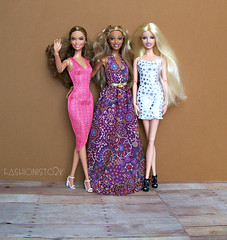 The Panel (fashionisto2k) Tags: f2k barbie jenniferlopez jlo beyonce britneyspears britney dolls