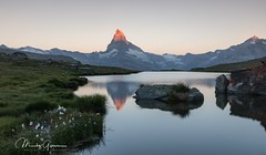 Sunrise at Matterhorn (moritzgyssler) Tags: wallis summer zermatt landscape matterhorn nature