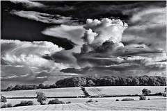 Sunshine & Showers (Antony Ward) Tags: clouds showers northyorkshire polariser