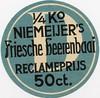 Groningen Paterswoldseweg Niemeijer's Tabaksfabriek; sluitzegel (hjrnoorden) Tags: paterswoldseweg niemeijer tabaksfabriek sluitzegel