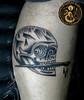Calavera con pincel (Bastian Klak) Tags: skull brush calavera calaca klak bastianklak gac santiago chile tattoo tatuaje pincel