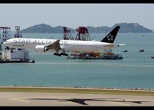 B777-35E/ER   EVA Air   Star Alliance   B-16715   HKG