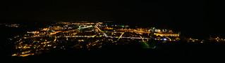 Sète, panorama nocturne depuis le Mont Saint-Clair