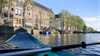 Canoeing in Amsterdam