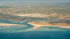 Turolhao and Ilha Da Armona (Jon Bowles) Tags: aerialphotography aeriallandscape color sony a7rii portugal faro olhão pt ilha da armona coast coastline mediterranean beach estuary