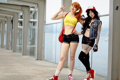 Anirevo Girls (Nattawot Juttiwattananon (NJ)) Tags: cosplay misty pokemon anirevo animerevolution2017 vancouverconventioncentre