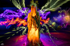 LightPainters United 2017. Teufelsberg (Athalfred DKL) Tags: light painting lightpainting lp lightgraff children darklight dkl lightart art artist frodoalvarez nophotoshop herramientas hlp frododkl frodo berlín unitedlightpainters united lightpainters aurora movement auroramovement teufelsberg