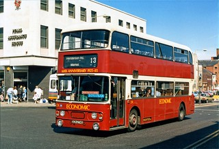 SCN 274S - Leyland Atlantean at South Shields Market Place