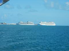 Celebrity Summit and Norwegian Breakaway at Kings Wharf (Curb Crusher) Tags: cruiseship norwegianbreakaway bermuda kingswharf celebritysummit