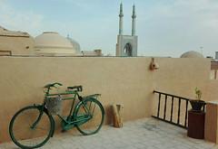 Yadz - rooftop (Chiara Cst) Tags: iran urban yadz rooftop morning