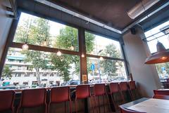 _DSC2033 (fdpdesign) Tags: pizzamaria pizzeria genova viacecchi foce italia italy design nikon d800 d200 furniture shopdesign industrial lampade arredo arredamento legno ferro abete tavoli sedie locali