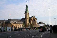 Luxembourg train station (Krzysztof D.) Tags: luksemburg luxembourg europa europe dworzec station stacja bahnhof architecture architektura