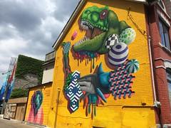 Toronto 2017 (bella.m) Tags: graffiti streetart urbanart toronto canada art birdo mural