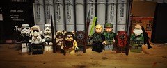 The Battle of Endor (LordAllo) Tags: lego star wars battle endor return the jedi ewoks wicket paploo chief chirpa stormtrooper scout trooper luke skywalker princess leia organa nik saint