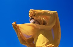 My blue Sun by La Loba ( Chiara Leone) - Nikon  Fm2 - Provia