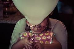 (Liza Williams) Tags: candid unseen hidden lips noface girl tatum balloon birthday cake niece family toddler baby