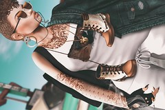 📷     The rebel one. (ℒidsα) Tags: vanityhair kom mbirdie attic dafnisclothes purepoison since1975 white~widow rebel cigarette tattoo tattooed on9 road itdoll doll girl cute woman lotd fashion game gamer gamergirl gamedoll avatar sl secondlife slavatar slfashion free freebie mesh pixel virtual virtualworld beauty beautiful photo photograph snapshot clothing clothes picture blog blogger slblogger secondlifeblogger moda event catwa