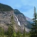 More distance away of Takakkaw Falls
