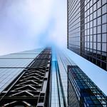 Touch The Sky  - London City Office Life by Simon Hadleigh-Sparks thumbnail