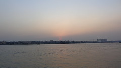 Sunset on the Nile (Rckr88) Tags: sunset nile sunsetonthenile maadi cairo egypt africa travel travelling water waves wave river rivers nileriver nilesunset thenileriver sun sunlight sky