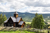 Mountain churches, from the 12th century. (purrnuu) Tags: buskerud norja no stavechurch church old