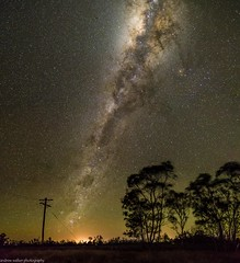 the end of the line (andrew.walker28) Tags: milky way galaxy galactic centre stars night nightscape long exposure brookstead darling downs queensland australia